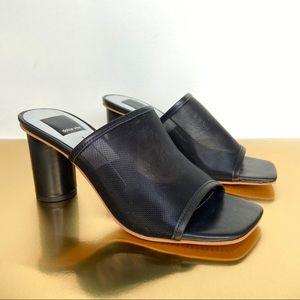 DOLCE VITA | Norah Mesh Slide Sandal Mule Heels